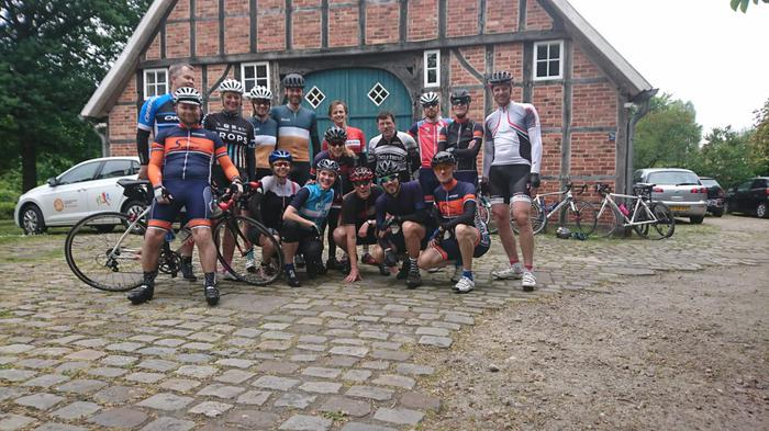 Geslaagd fietsweekend Teutoburgerwoud!!